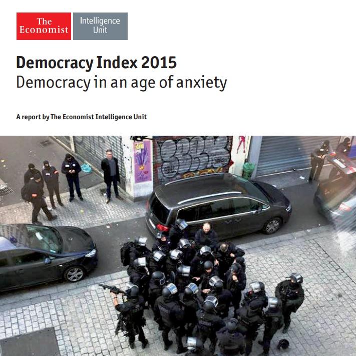 Recessão e impeachment derrubam Brasil em ranking mundial de democracias