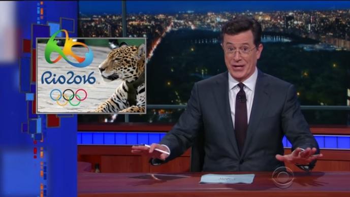 Desordem domina preparativos para Olimpíada do Rio, diz humorista na TV dos EUA