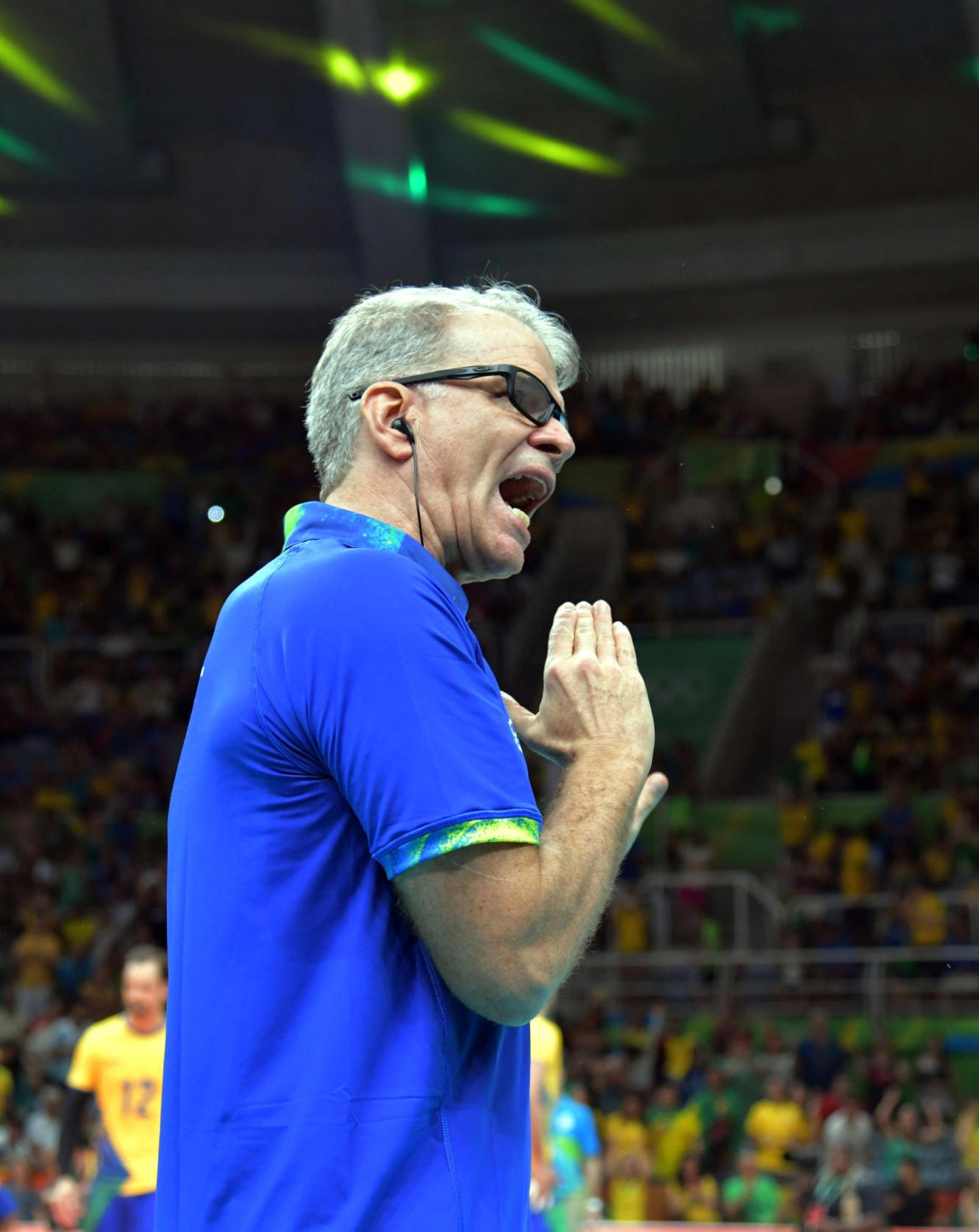 Bernardo Rezende coach of Brazil