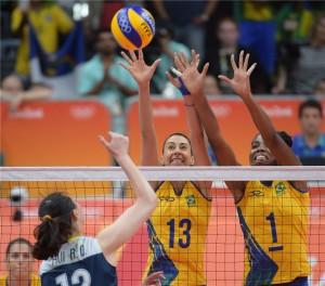 Para conquistar o ouro, as chinesas venceram a seleção brasileira nas quartas