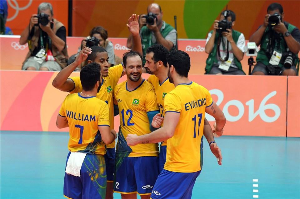 Brasileiros voltaram a jogar como na Liga Mundial (Fotos: FIVB)