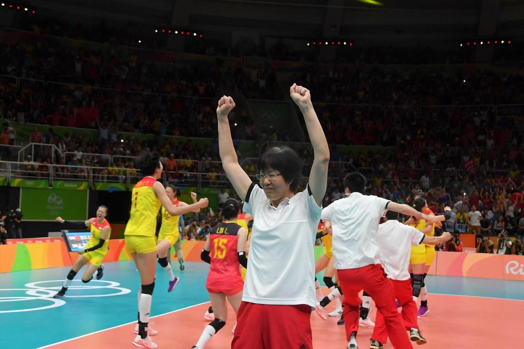 China gold medallist