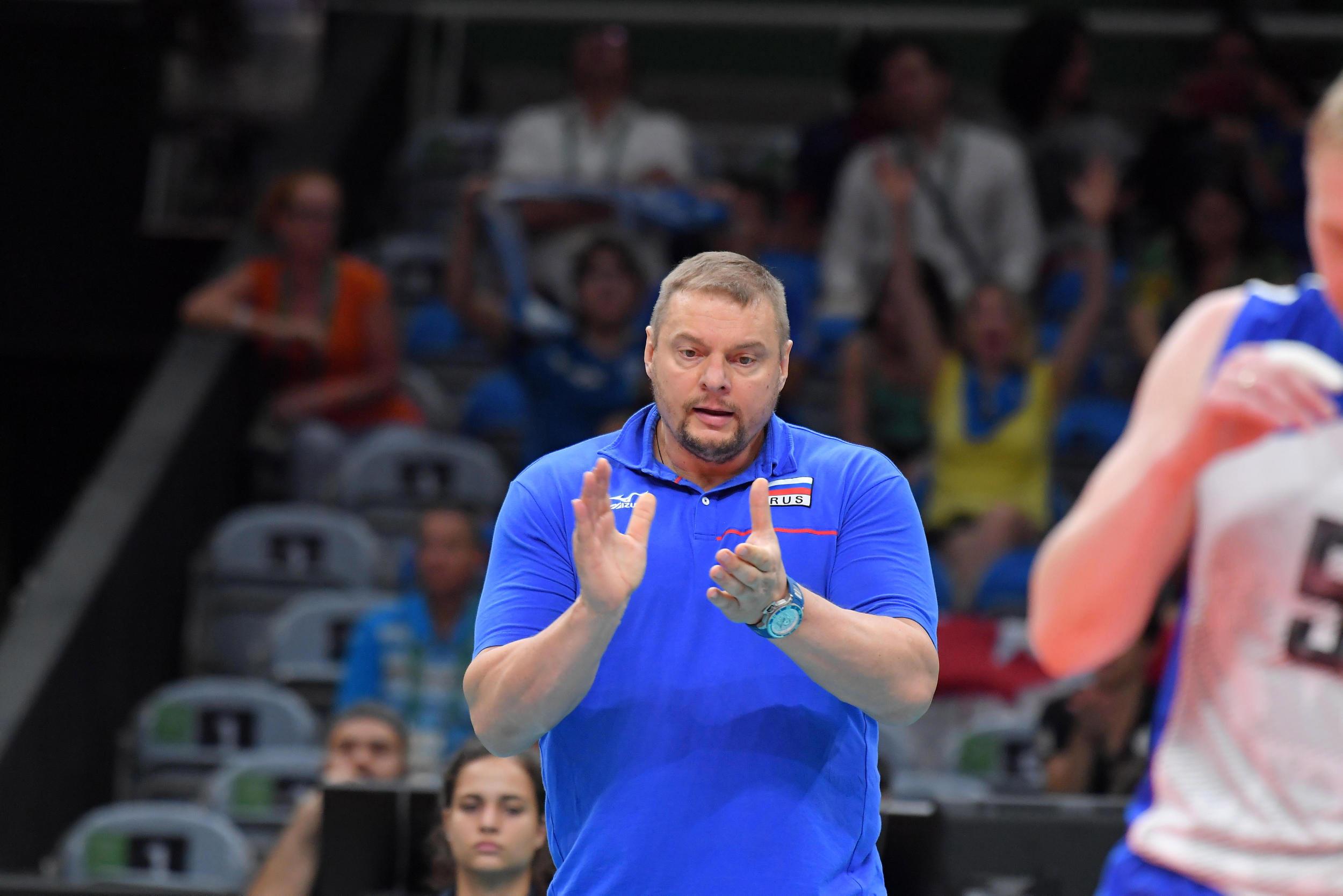 Vladimir Alekno coach of Russia