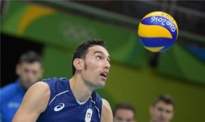 Birarelli em ação na Rio 2016
