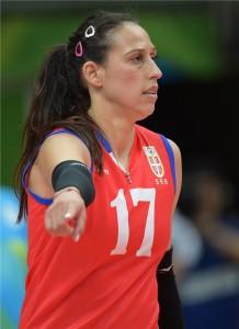 Prata no Rio, sérvia Popovic tinha permissão para usar prednisolona (fotos: FIVB)