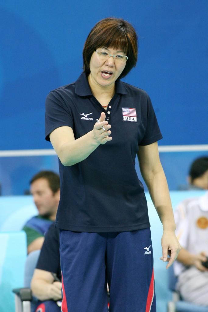 USA head coach Ping LANG (CHN)