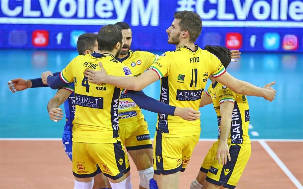 Modena: vitória só no tie break