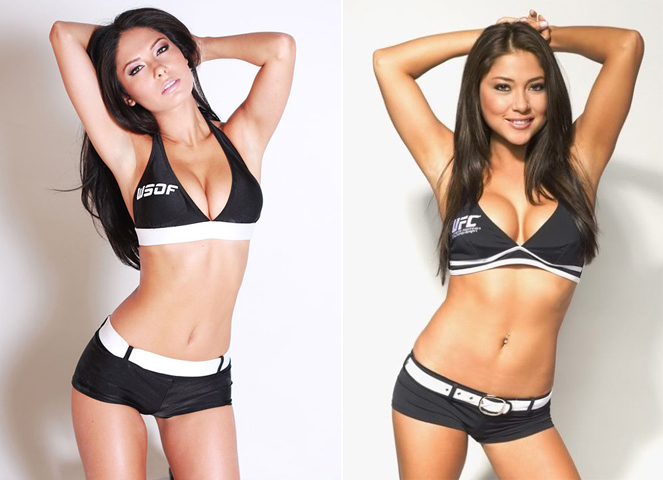 how to become a ufc ring girl