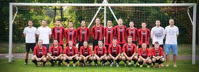 Foto posada dos jogadores do Unterwaltersdorf