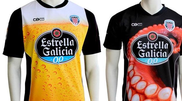 As camisas do Lugo (Crédito: Divulgação)