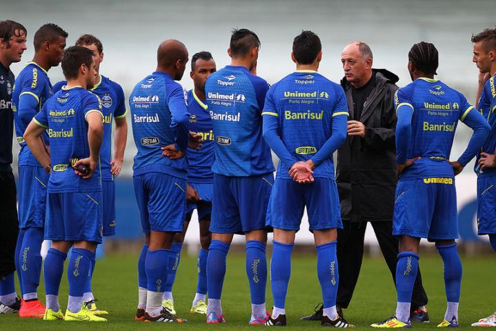 Felipão acertou o time do grêmio nesse Brasileirão