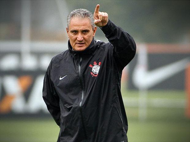 Tite é um dos treinadores mais vitoriosos da história do Corinthians