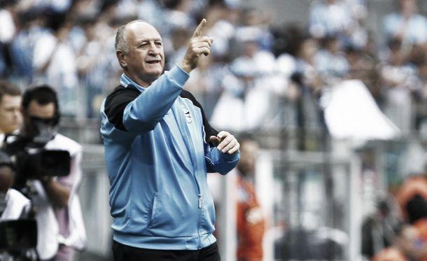 Felipão foi expulso por ofensas ao árbitro