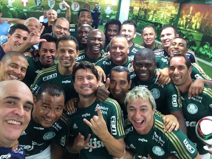 Ídolos voltaram a brilhar diante da torcida do Palmeiras