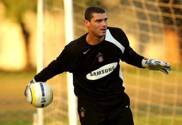 Silvio Luiz treinando pelo Corinthians em 2006
