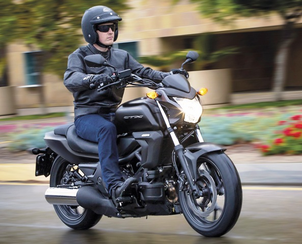 Nova Moto 700 da Honda - CTX700N 2014_CTX700N_2