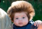 Você conhece o bebê mais cabeludo do mundo? Ele tem apenas dois meses!