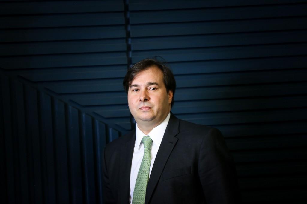Brasília - O presidente da Câmara dos Deputados, Rodrigo Maia, participa do lançamento do Siele - Sistema de Informações Eleitorais (Marcelo Camargo/Agência Brasil)