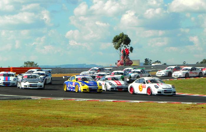 1ª corrida oficial: Porsche GT3 CUP Challenge Brasil
