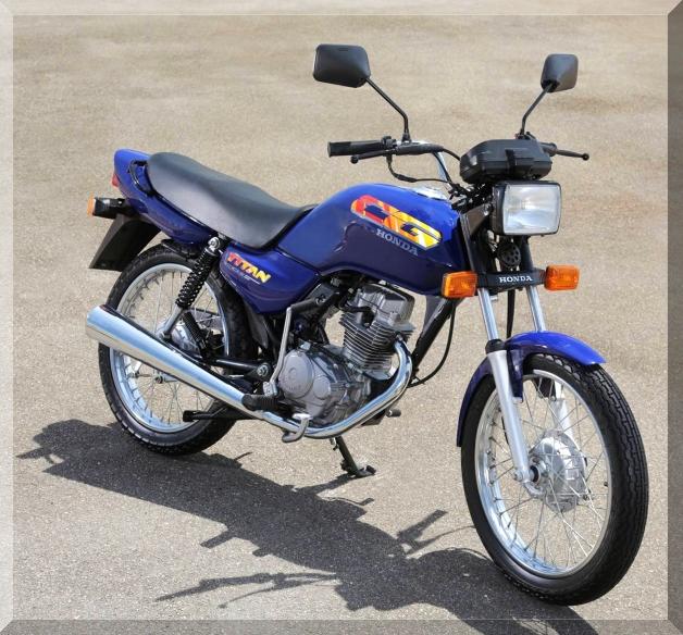 1994 - A CG 125 Today passa por alterações e passa a se chamar TITAN. Tanque de combustível aumenta para 13 litros.