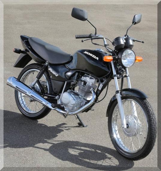 """2006 - É relançado o motor 124 cc com 12,5 cv como segunda versão que passou a se chamar FAN. Veio com a """"válvula Pair"""" que posicionada próxima a válvula de escapamento, injeta oxigênio para a diminuição da imessão de gases poluentes."""