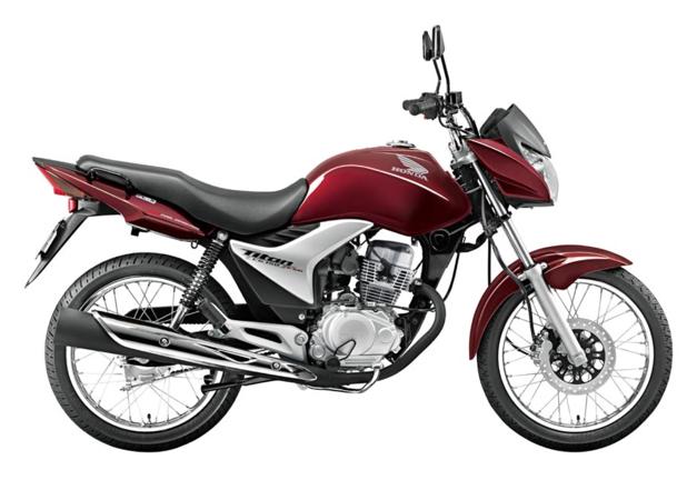 2011 - A versão Titan passou a vir com freio a disco na roda dianteira.