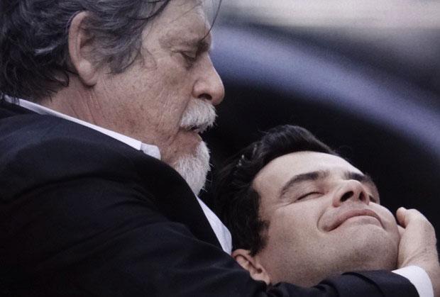 José de Abreu e Carmo Dalla Vecchia (Foto: Divulgação/TV Globo)
