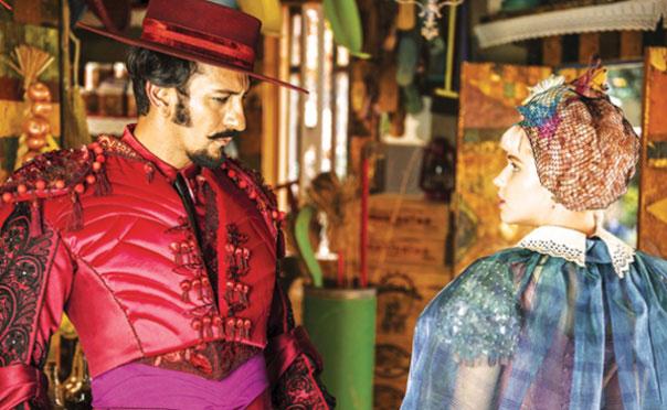 Irandhir Santos (Zelão) e Bruna Linzmeyer (Juliana) (Foto: Divulgação/TV Globo)