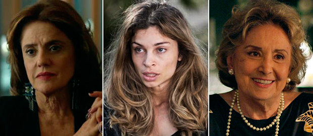 Marieta Severo / Grazi Massafera / Eva Wilma (Fotos: Reprodução)