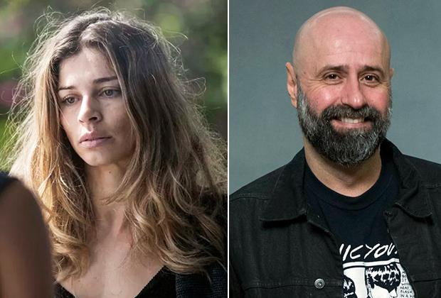 """Grazi Massafera (atriz) e Mauro Mendonça Filho (diretor) de """"Verdades Secretas"""" (Foto: Divulgação/TV Globo)"""