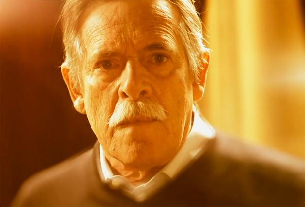 """Zé de Abreu, como Gibson, o """"pai"""" da facção (Foto: Reprodução)"""