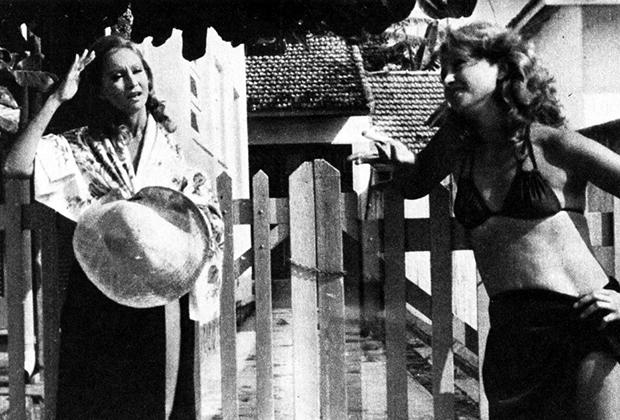 """Eva Wilma como Ruth e Raquel em """"Mulheres de Areia"""" (Foto: Divulgação)"""