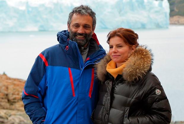 """Domingos Montagner e Débora Bloch em """"Sete Vidas"""" (Foto: Divulgação/TV Globo)"""