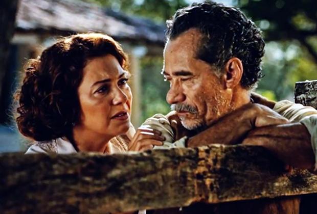 Fabíula Nascimento e Chico Diaz (Foto: Divulgação/TV Globo)