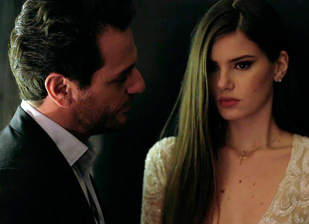 Rodrigo Lombardi e Camila Queiroz (Foto: Reprodução)