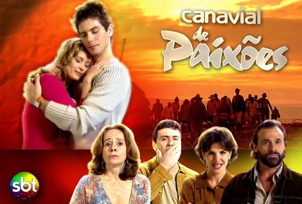 """Anúncio de """"Canavial de Paixões"""""""