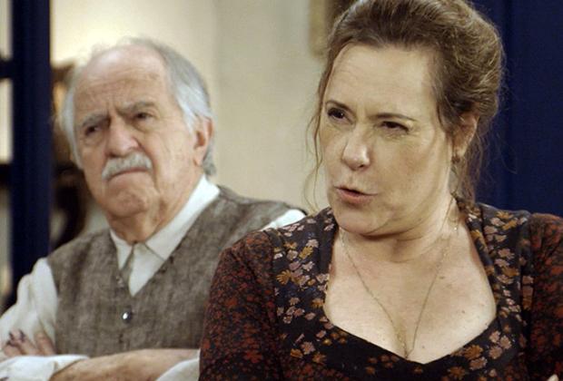 Ary Fontoura e Elizabeth Savalla (Foto: Divulgação/TV Globo)