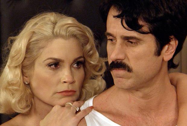 Flávia Alessandra, com Eriberto Leão (Foto: Divulgação/TV Globo)