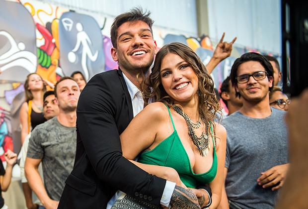 Uodson (Lucas Lucco) e Alina (Pamela Tomé) (Foto: João Miguel Jr/TV Globo)
