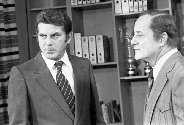 Carlos Zara e Paulo Autran (Foto: Divulgação/TV Globo)
