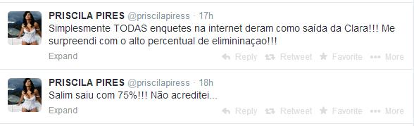 Priscila Pires, BBB9