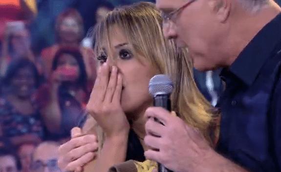 Vanessa ficou incrédula com o resultado anunciado por Bial (Foto: Reprodução/TvGlobo)