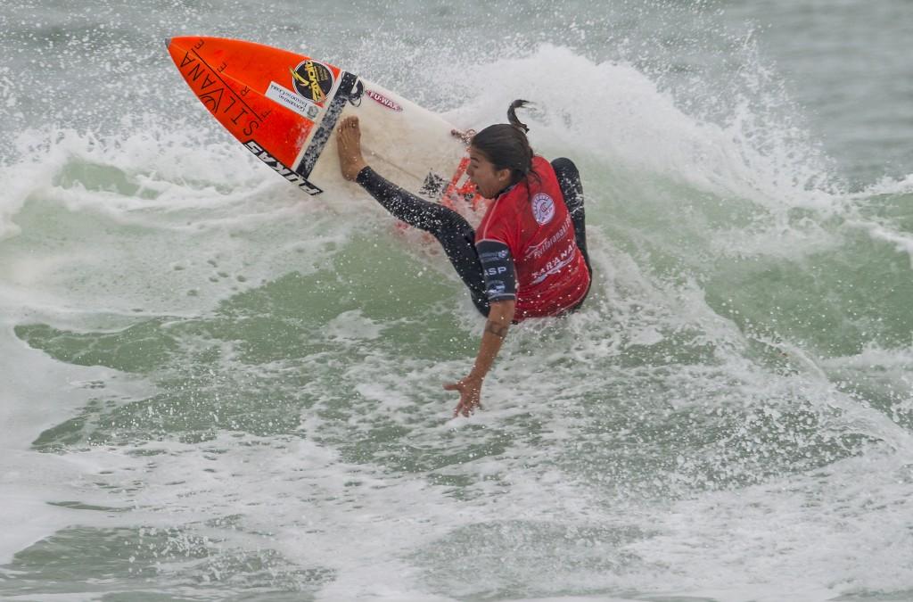 Silvana Lima durante torneio na Nova Zelândia. Crédito: ASP/Robertson