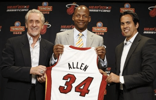 Ray Allen, do Miami Heat