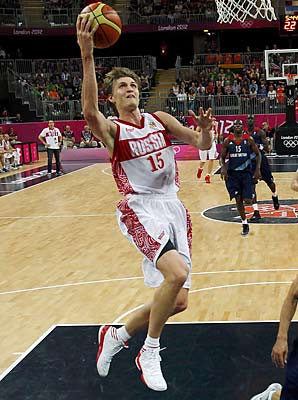 Andrei Kirilenko, Rssia
