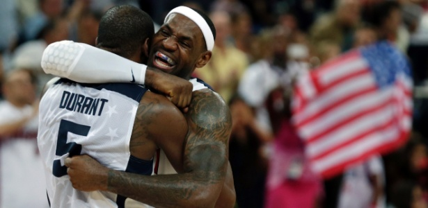 Kevin Durant e LeBron James