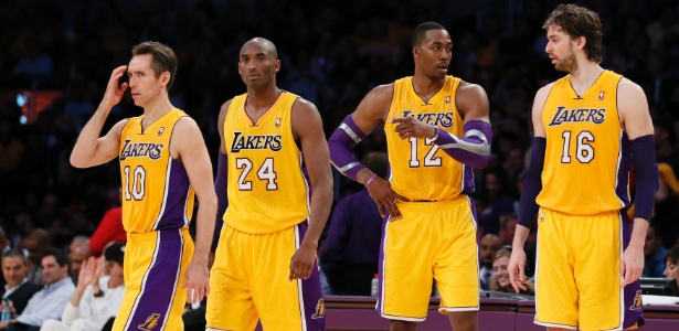 Fab Four do Lakers