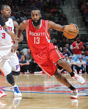 James Harden, surpresa pelo Rockets