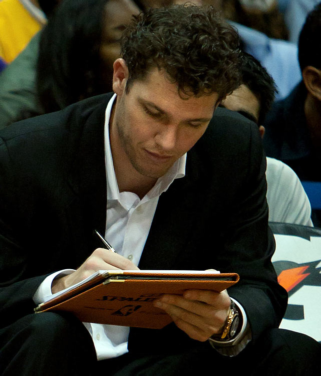 A prancheta de Luke Walton