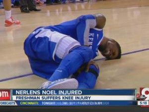 Nerlens Noel rompeu o CLA